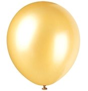 Pearlized Gold Party Balloons