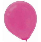 Solid Pink Party Balloons