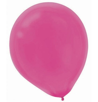 Solid Dark Pink Party Balloons