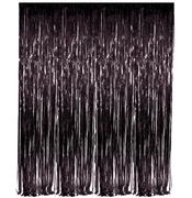 Black Fringe Curtain