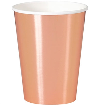 Rose Gold Party Cups