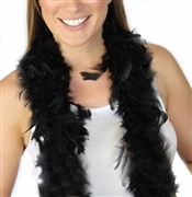 Fluffy Feather Boa: Black | Sweet 16 Feather Boas