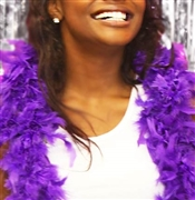 Fluffy Feather Boa: Purple | Sweet 16 Feather Boas