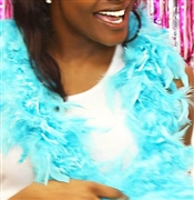 Fluffy Feather Boa: Teal | Sweet 16 Feather Boas