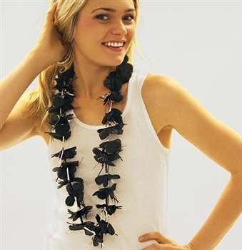 Black Sparkle Lei