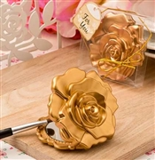 Gold Flower Compact