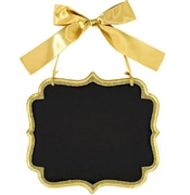 Large Gold Chalk Board Marquee Sign
