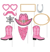 10pc Western Photo Props