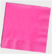 Solid Pink Cocktail Napkins