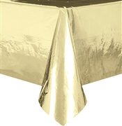 Metallic Gold Table Cover